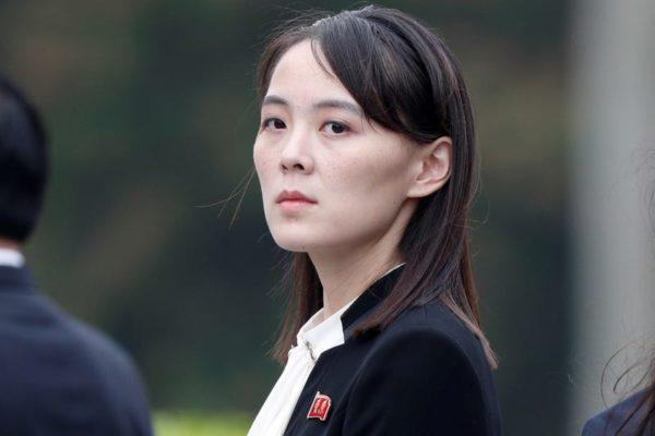 金与正,北朝鮮