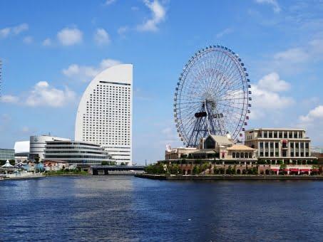 横浜,みなとみらい,インターコンチネンタル,観覧車