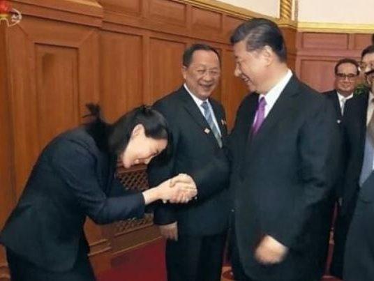 金与正,北朝鮮,習近平