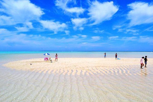 百合々浜,与論島,海