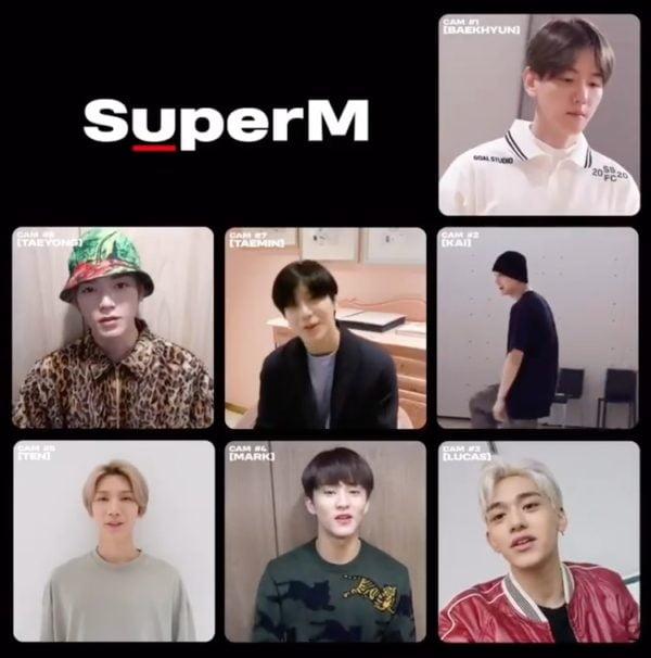 SuperM,ルーカス,ベクヒョン,マーク,テン,テミン,テヨン,カイ