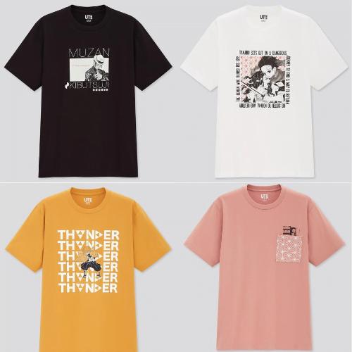 鬼滅の刃,ユニクロ,UT,コラボTシャツ,ラインナップ